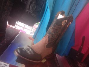 Real boots leather 100 each message me size for Sale in Las Vegas, NV