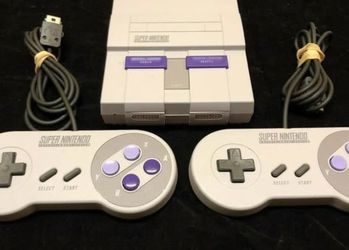 Super Nintendo Classic - SNES Mini (189 Games Total) - PRICE FIRM for Sale in Portland,  OR
