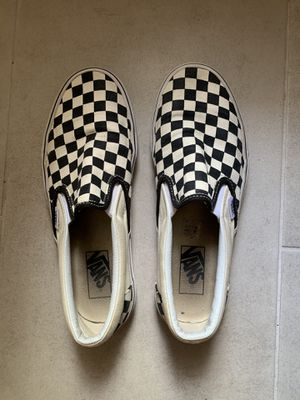 Checkered Slip On Vans for Sale in Lutz, FL