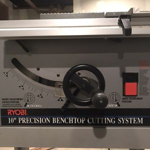 Table Saw And Router Ryobi for Sale in Elizabeth, NJ
