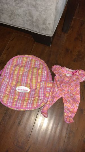 American Girl Doll Pajama & Backpack Set for Sale in Costa Mesa, CA