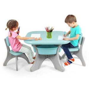 Children Kids Activity Table & Chair Set Play Furniture W/Storage Outdoor/Home for Sale in Los Angeles, CA
