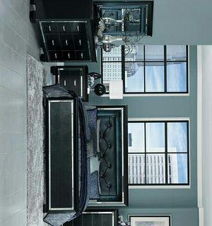 Allura Black LED King Panel Bed for Sale in Houston, TX