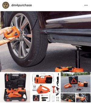 5 Ton..3 and 1 Function Electric Hydraulic Jack for Sale in Grosse Pointe Park, MI