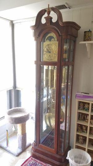 Ridgeway grandfather clock 3 chime for Sale in Herndon, VA