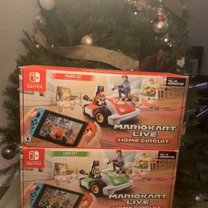 Mario Kart Live- Set With Both Mario And Luigi! Like New! for Sale in Tracy, CA