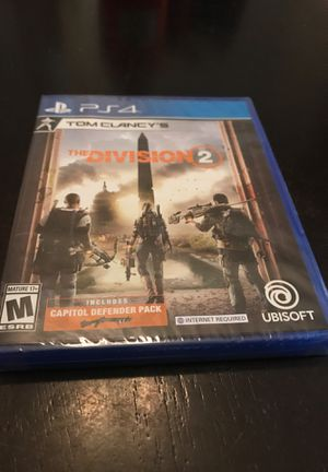 PS4 The Division 2 - Brand New Sealed for Sale in Pearland, TX