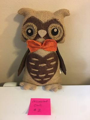 Decorative owl for Sale in Wood Dale, IL