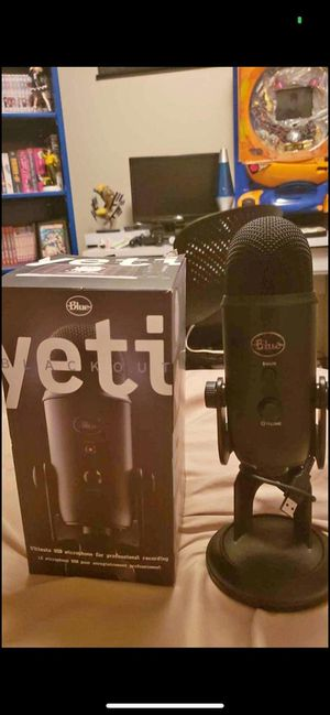 Blue yeti microphone for Sale in Lexington, SC