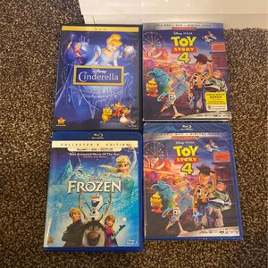 Disney Movie's (DVD) for Sale in Fresno, CA