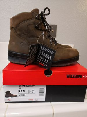 Brand new wolverine soft toe work boots for Sale in Riverside, CA