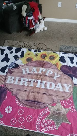 Cow girl/boy party for Sale in Spring Hill, FL