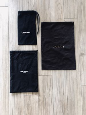 YSL, Chanel and Gucci Dust bags for Sale in Seattle, WA