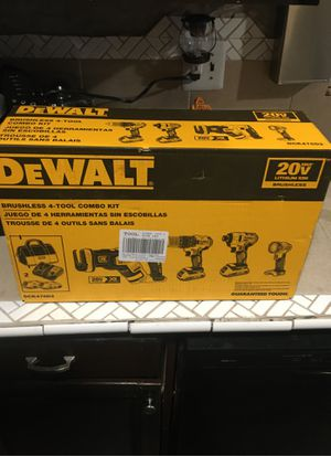 NEW DEWALT 4 tool combo kit for Sale in San Jacinto, CA