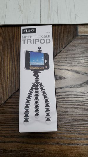 Micro flexible tripod for Sale in Chicago, IL