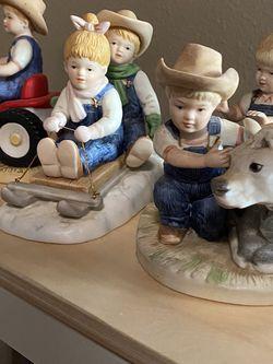 Denim Days Home Interior Figurines (1985) for Sale in Dallas,  TX