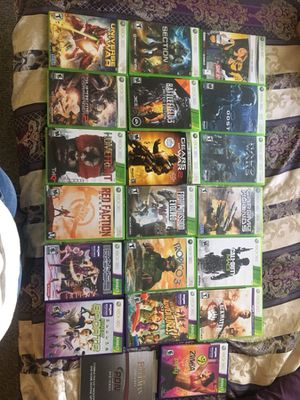 Xbox 360 games $60 great price 20 games for Sale in Miami, FL