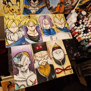 Future Trunks(Z) Saga Set! By Quil - Dragonball Z for Sale in Tracy, CA