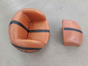 Kids all star Basketball chair and ottoman for Sale in Phoenix, AZ
