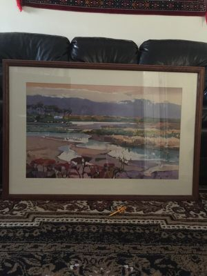 Hand paint large frame for Sale in Ashburn, VA