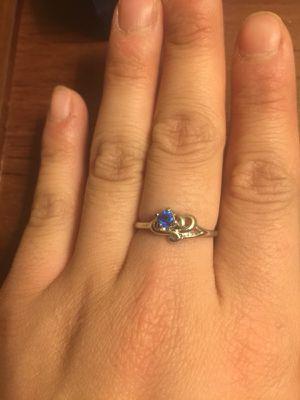 $7 Blue gemstone ring for Sale in Mechanicsburg, PA