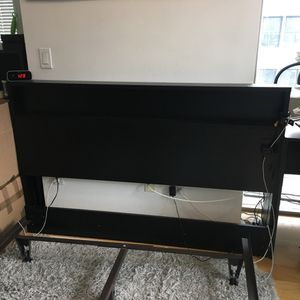 South Shore Black Full/Queen Headboard - $45 OBO for Sale in New York, NY