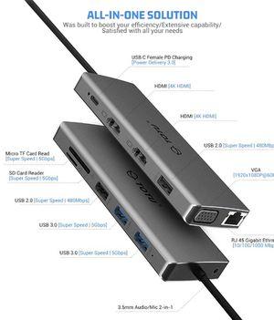 Totu USB Hub 13 in 1 for Sale in Villanova, PA