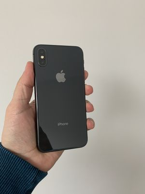 iPhone X 256 GB unlocked for Sale in Herndon, VA