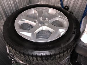 New 20 inch original Range Rover rims with eagle tires for Sale in Rahway, NJ