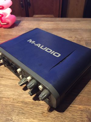 M-AUDIO FAST TRACK PRO for Sale in High Falls, NY