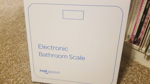 Real appeal bathroom scale brand new sealed