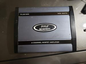 Pyle Academy 4channel amp for Sale in Tyler, TX