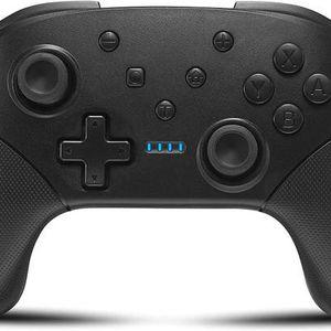 Wireless Switch Controller for Nintendo Console Pro Gamepad with Joystick [2020 New] Non-Slip Ergonomic Design, Black for Sale in Pomona, CA