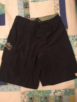 Navy blue size 30 quick silver board short for Sale in Redlands, CA