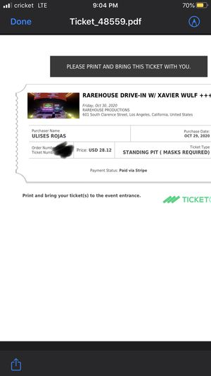 LA Xavier Wulf show for Sale in Corona, CA