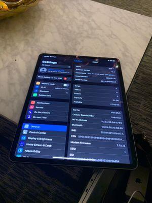 iPad Pro 12.9 inch 3rd gen 64g.b for Sale in Dallas, TX
