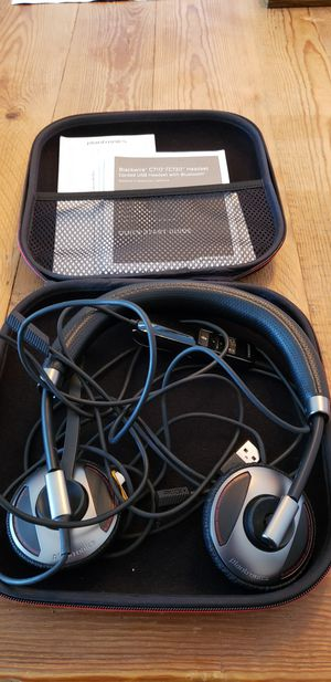 Black wire C710/720 Headset Corded USB for Sale in San Jose, CA
