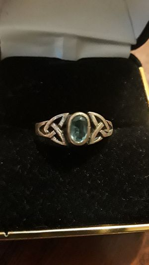 Cute Sterling Silver 925 genuine stone ring. for Sale in Queens, NY