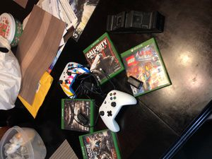 Xbox one games,controller,and more. for Sale in Rialto, CA