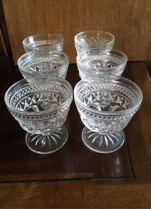Antique ICECREAM glasses for Sale in Redwood City, CA