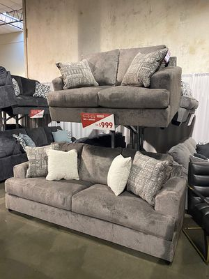 Ultra Plush Sofa and Love Seat Set for Sale in Portland, OR