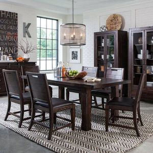 Pine Hill Dining Table Set (6 chairs) for Sale in Portland, OR