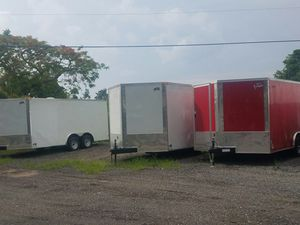 2019 NEW enclosed trailer 8.5 x 16 TA for Sale in Miami, FL
