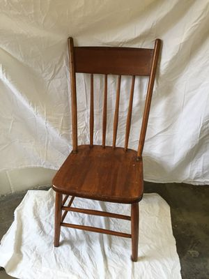 Antique/vintage high back chair for Sale in Alexandria, VA