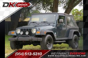 2006 Jeep Wrangler for Sale in Hollywood, FL