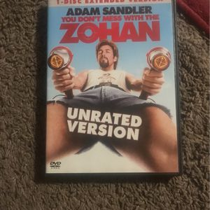 Adam Sandler You Don't Mess With The Zohan for Sale in Escondido, CA