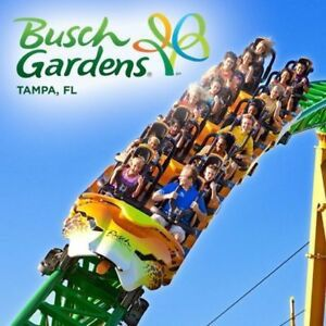 2 Busch garden tickets for sale! for Sale in Tampa, FL