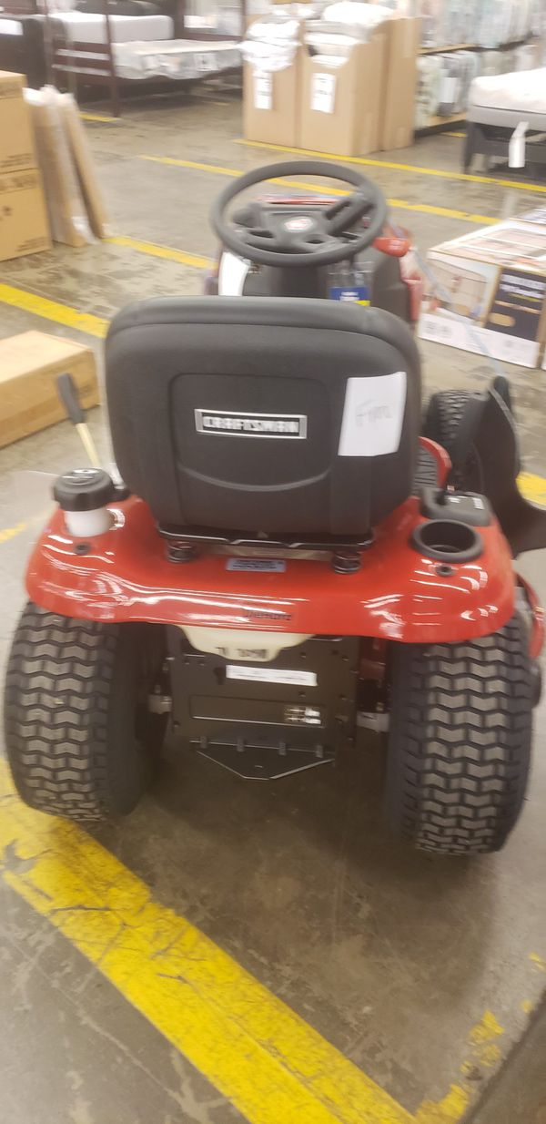 BRAND NEW TRACTOR MOWER YOURS TO TAKE WITH ONLY $60 DOWN... TAG PRICE = $1680...