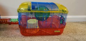 Dual Hampster home, bedding and food! for Sale in Derwood, MD