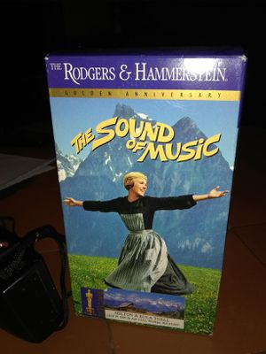 Vhs sound of music for Sale in Wichita, KS